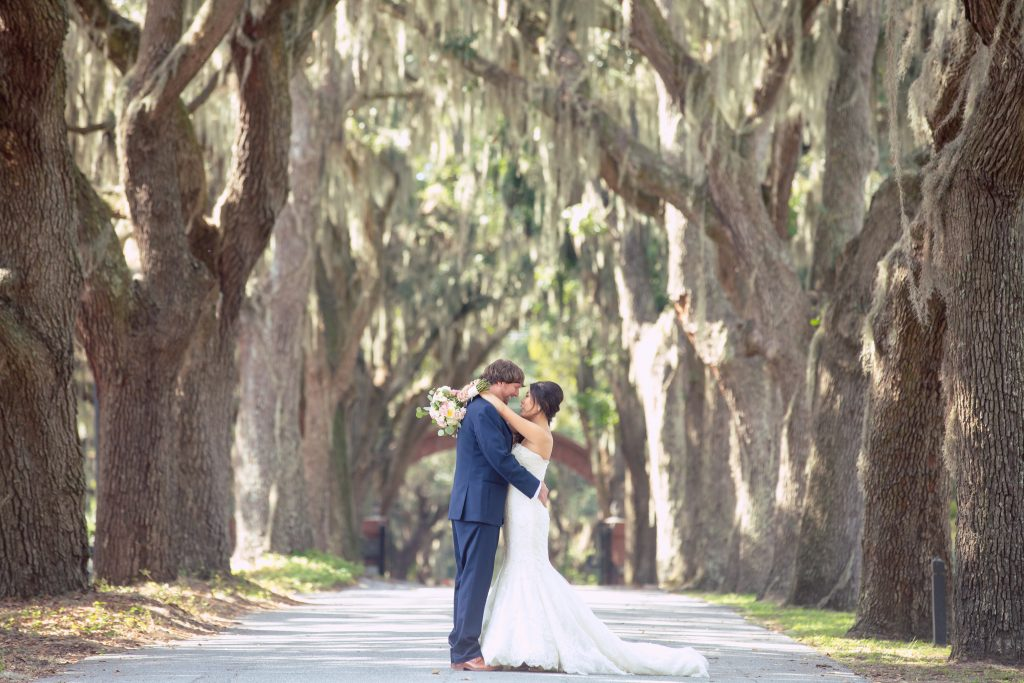 wormsloe site wedding photography