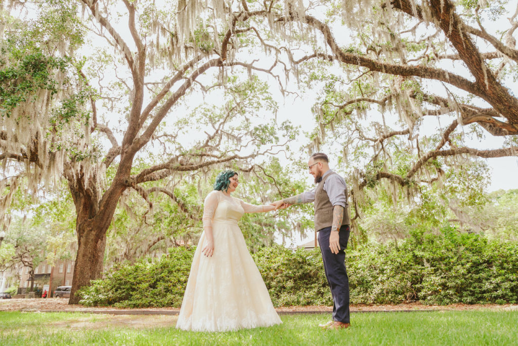 tips for planning savannah wedding